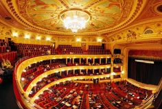 The Lviv Theatre of Opera and Ballet, Ukraine.