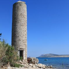 This is a Tuna watch tower were the local fishermen on Pag would look for shoals of Tuna. Photo by Kevin Ashton taken on my press trip to the island of Pag, Croatia.  #croatia #hrvatska