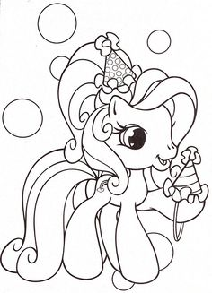My Little Pony Coloring Pages 15