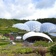 With a worldwide reputation and people coming from all over to see it, The Eden Project hardly needs an introduction. It has been dubbed by some as the Eighth Wonder of the World and if you have been to visit it is easy to see why.⁣ ⁣ Nestled in a crater that is the size of 30 football pitches, the beautiful Biomes stand proud and house the tropical gardens. The Eden Project is home to the world's largest rainforest in captivity. This alongside the rainforest canopy walk make for an exciting… Football Pitch, Eden Project, Biomes, Wonders Of The World, Worlds Largest, Canopy, Tropical Gardens, Building, Outdoor Decor