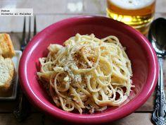 espaguetis con especias cajun
