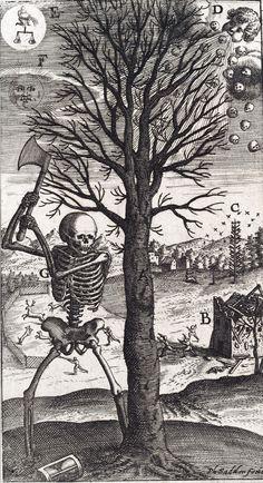 Philipp Sadeler - Der Tod (c. 1626).