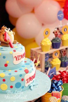 Looney Tunes Tazmanian Devil themed birthday party via Kara's Party Ideas KarasPartyIdeas.com #looneytunestazmaniandevilparty (19)