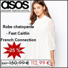 #missbonreduction; Réduction de 25 % sur la Robe chatoyante - Fast Caitlin French Connection chez ASOS. http://www.miss-bon-reduction.fr//details-bon-reduction-ASOS-i853209-c1827032.html