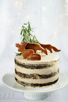 Babapiskótás-mazsolás gesztenyetorta - Kifőztük, online gasztromagazin Christmas Decorations, Christmas Ornaments, Tiramisu, Oreo, Tart, Panna Cotta, Food And Drink, Xmas, Ethnic Recipes
