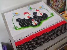 Resultado de imagen para paños de cocina decorados