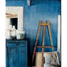 """7 - дом - очень нравится такой цвет, уютная """"потертая"""" мебель"""