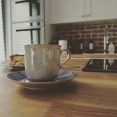 Coffee in My Perfect Kitchen Coffeecup, Wood Counter, Espresso, Tableware, Kitchen, Life, Espresso Coffee, Coffee Cup, Dinnerware