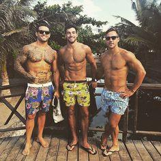 Matt (r), Andrew (c), Daniel Conn (l)