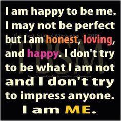 Vandaag ben ik dankbaar dat ik mezelf kan en mag zijn - Today I am thankfull that I can be me