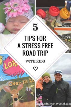 5 Tips for a Stress Free Road Trip with Kids