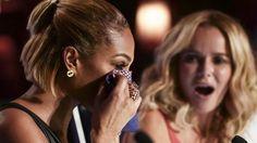 Alesha Dixon and Amanda Holden on Britain's Got Talent