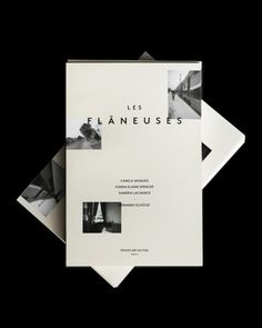 LES FLÂNEUSES | Artists Exhibition Catalog on Behance