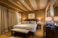 Chalet M Morzine bedroom four