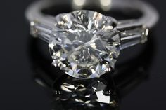 Can't you see this round brilliant cut diamond on your finger?