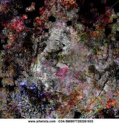 """Francisco Cuéllar Sánchez """"Cusan"""". Pintura digital """"Buscando un sueño"""""""