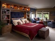 bedroom wall storage ideas - Google Search