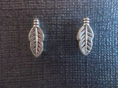 Unique Leaf Charm Magnetic Earrings!