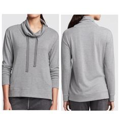 Banana Republic Cowl Neck Sweatshirt sunday sunday banana republic Cowlneck sweatshirt! Love this super cute and comfy! Love the pockets as well! NWOT! 95% Viscose 5% Spandex PRICE IS NOT FIRM OFFERS ACCEPTED UPON REQUEST... Banana Republic Tops Sweatshirts & Hoodies