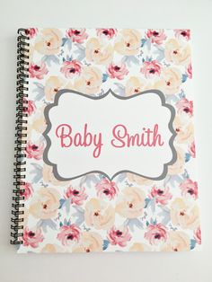 A personal favorite from my Etsy shop https://www.etsy.com/listing/511539383/customized-pregnancy-journal-expecting