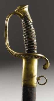Confederate staff officer's sword