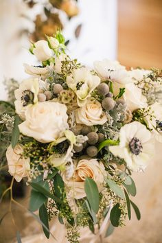 bouquet with white a