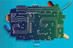 Semiconductor electronics - Sivaraman Gopakumar/Sivaraman Gopakumar/Getty Images半導体トランジスター(1947年) ノーベル賞を2回受賞した偉人として知られるジョン・バーディーン。彼は半導体によるトランジスターの開発に成功した。半導体で出来ているトランジスターは、弱い電気信号を強い信号に変える増幅器としての役割や、電気信号の流れを素早くON/OFF で切り替えるスイッチとしての役割を果たす小さな電子素子で、彼の発明により、エレクトロニクス産業の成長をより加速させた。
