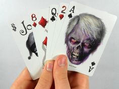 Bicycle Zombified Playing Cards @ http://www.newtsgames.com/bicycle-zombified-playing-cards.html