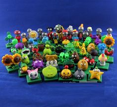 1 Set 65 pcs Mini Handmade Plants vs zombies Classics by Artofbox, $149.00