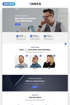 273 best landing page templates images on pinterest in 2018 tanos business responsive html landing page template page template html templates landing page flashek Image collections