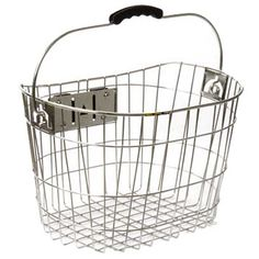 Sunlite Stainless Quick Release Basket - TrekBicycleStores.com - Bikes, Cycling Clothing, Gear and More
