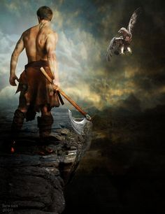 Highlander by ~hewsanimage  VISIT & FOLLOW FOR RED BEAUTY http://egerr8.tumblr.com/  http://www.pinterest.com/egerr8