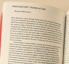 Newly published journal Translation as Method now in print. Managing editor: Marianna Maruyama. Featuring the first essay in English introducing Dutch artist/composer Sedje Hémon (1923-2011) by Mar…