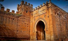 Elegant historical place around the morocco