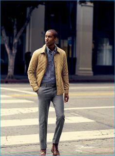 Macho Moda - Blog de Moda Masculina: Por que você PRECISA de mais Roupas em TONS TERROSOS? 5 Provas IMPOSSÍVEIS de ignorar! Mens Fashion Week, Mens Fashion Suits, Fashion Fashion, Mens Brown Boots, Brown Leather, Yellow Leather, Leather Boots, Dress Code, Men In Tight Pants