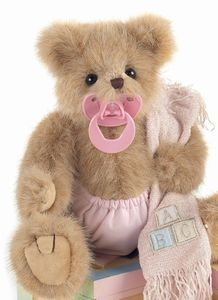 If we have a sweet little princess. Nanny is gonna start collecting these precious bears for her. This will be the first one she gets.  Lil' Sucker (Pink)❤❤❤