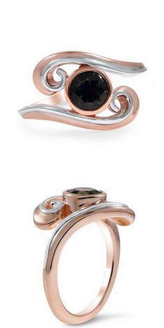 Two Tone Ribbon Ring