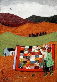 Fabulous Welsh artist - Valeriane Leblond www.valeriane-leblond.eu