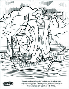 worksheets columbus day coloring page education that i love