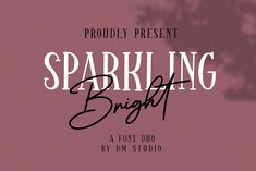Wow picks! Sparkling Bright - Beauty Font Duo at €3.60 Choose your wows. 🐕 #Serif #Design #Quote #Crafting #Handwritten #Signature #Autumn #Handlettering #Monoline #Unique Script Logo, Handwritten Fonts, New Fonts, Serif Font, Halloween Fonts, Signature Fonts, Uppercase And Lowercase, Beautiful Fonts, Freelance Graphic Design
