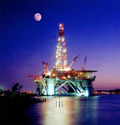 oil rigs on land | heartily concur with Steve's description of the event. It was ...