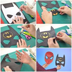 Do you like superheros🦸♂️? Now it is easier than ever to create your own masks to resemble them. Just follow the steps in our latest tutorial.  ❗ Link available on Romanian territory only. Diy Craft Projects, Diy Crafts, Create Your Own, Masks, Kids Rugs, Superhero, Link, Creative, How To Make