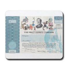 Walt Disney stock Mousepad