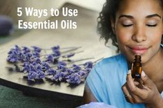 Essential oils are the lifeblood of the plant. Learn 5 ways to use essential oils for health and wellness for your family. HealthyFamilyMatters.com #essentialoils #natural #healthylifestyle