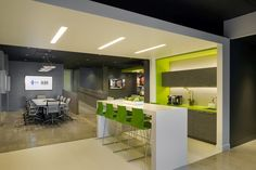 Kamus & Keller have designed the sales offices for the new ICON office tower located in Hollywood, California.