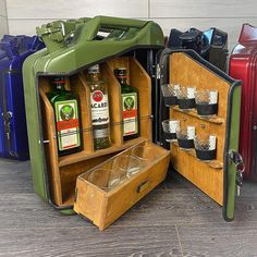 Mini Bars, Best Gifts For Men, Great Gifts, Jerry Can Mini Bar, Unusual Gifts, Good Company, Canisters, As You Like, Man Cave