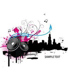 music vector (LIFE)