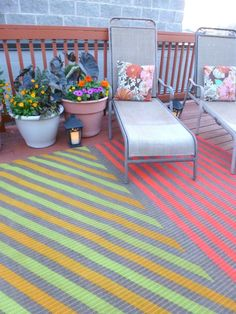 Hometalk Highlights's discussion on Hometalk. 13 Expensive Looking Outdoor Rug…