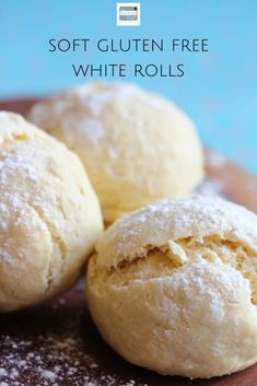 Soft Gluten Free White Rolls Dairy Free The Free From Fairy Dairy Free Milk, Gluten Free Flour, Gluten Free Baking, Gluten Free Desserts, Dairy Free Recipes, Gluten Free White Cake Recipe, Gluten Free Pastry, Lactose Free, Bread Recipes