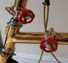 Gadget Mania: Best Find of the Day: Gold Plated Brompton Bicycle